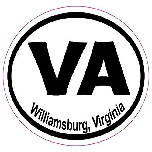 Ross Stores Oval VA Williamsburg Virginia Vinyl Car - Sticker Graphic - Auto, Wall, Laptop, Cell, Truck Sticker for Windows, Cars, ()