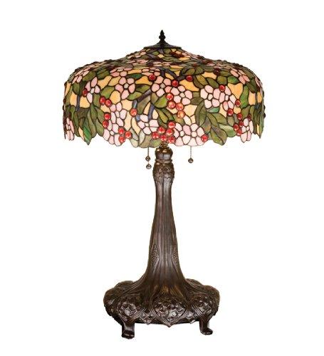 Amazon.com: Lámpara de mesa de 31 pulgadas de alto Tiffany ...