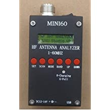 New SARK100 Mini60 HF ANT SWR Antenna Analyzer Meter For Ham Radio Hobbists