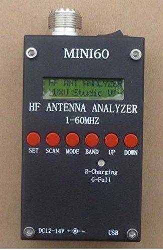 Generic SARK100 Mini60 HF ANT SWR Antenna Analyzer Meter For Ham Radio Hobbyists