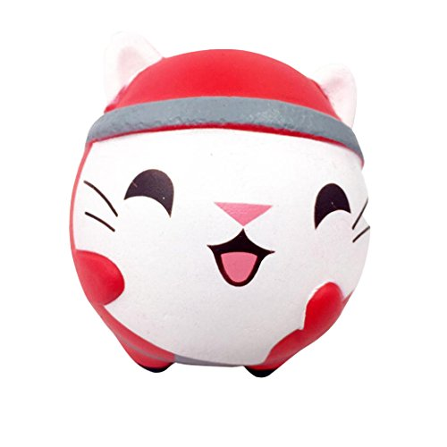 Jumbo Squishy Toy, Forthery Cute Cat Squeeze Slow Rising Decompression Kids Toy Christmas Gift (A) ()