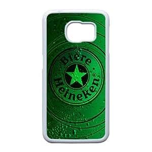 Heineken For Samsung Galaxy S6 Edge Cell Phone Case White ADS066964