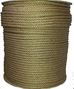 50 m/ètres Corde Antica Corderia Marra /® dal 1896 corde Juta 6 mm