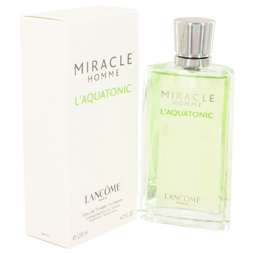 Láncome Mïracle L'aquåtonic Colognë For Men 4.2 oz Eau De Toilette Spray + FREE Shower Gel
