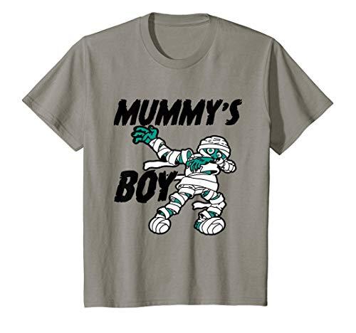 Kids Cute Funny Mummy's Boy Halloween Gift for Kids T-Shirt -