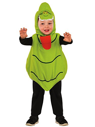 (Rubie's Baby's Classic Ghostbusters EZ-On Slimer Romper Costume, Green, Toddler)
