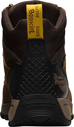 Mixte Dr Sécurité rubbery De Chaussures Wp Brown Adulte St Martens Brown Ridge Overlord dark xZqZwRg1Y
