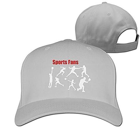 Runy Custom Sports Premium Adjustable Hunting Peak Hat & Cap Ash (Minnesota Vikings Gloves Nike)