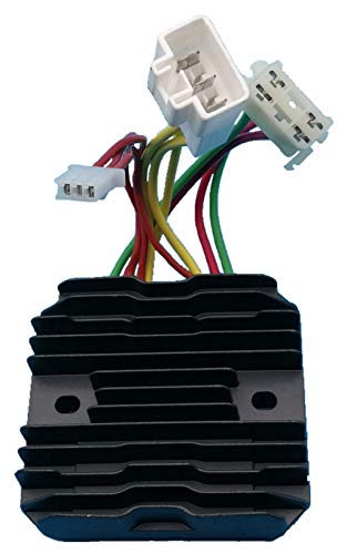 Tuzliufi Replace Voltage Regulator Rectifier Polaris 600 700 800 Dragon HO IQ Cleanfire Assault RMK Switchback Shift Touring Snowmobiles 2007 2008 2009-2015 4011731 4012476 4012930 4013587 New Z185