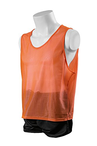 Kwik Goal Youth Deluxe Scrimmage Vest, Orange