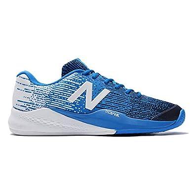 2bf7c11f2f255 Amazon | [ニューバランス] メンズ テニスシューズ MC906 ブルー オムニ/クレーコート用 2Eサイズ MC906UE32E  (28.5) | テニス