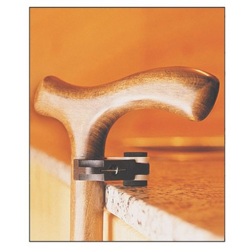 Easy-to-Use Desk or Table Clip Walking Cane Holder