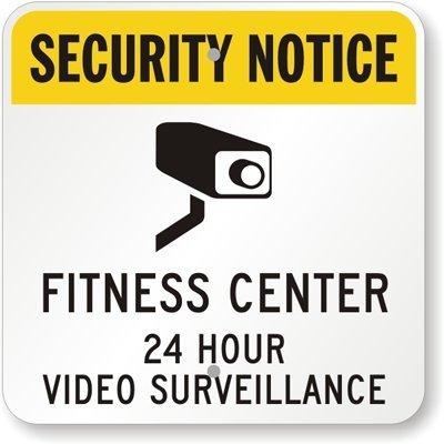 MyDoorSign Aviso de Seguridad - Centro de Fitness 24 Horas ...