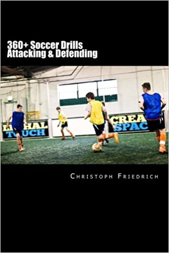 360 Soccer Attacking Defending Drills Soccer Football Practice