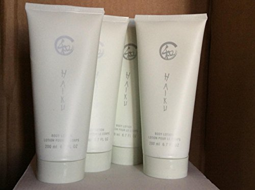 Haiku Body Lotion 6.7 fl.oz. lot 4 pcs.