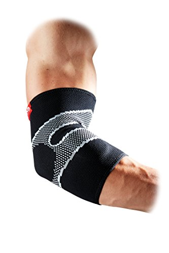 McDavid 5130 Level 2 4 Way Elastic Elbow Sleeve with Gel Buttress, ()