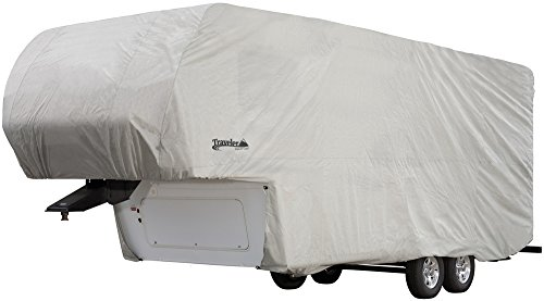 - Traveler by Eevelle 5th Wheel RV Cover - fits 29'-33' Long Trailers - 402