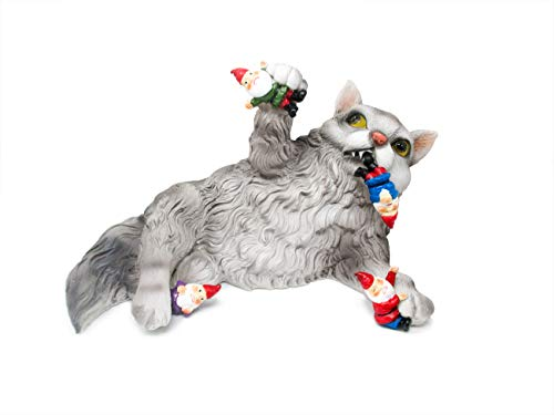 Hilarious Home Funny Outdoor Lawn Garden Cat Gnome Statue Gi