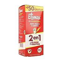 ELIMAX Shampooing 250ml 2 en 1 ELIMINE ET PROTEGE