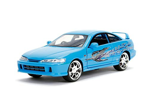 Jada Toys Fast & Furious 1995 Acura Integra Die-Cast Vehicle 1:24 Scale Blue