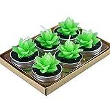 MoGist 6Pcs Simulation Cactus Shaped Plant Candles Romantic Home Decoration
