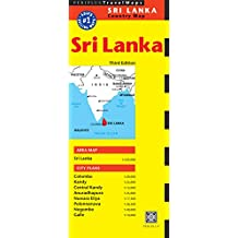 Sri Lanka Travel Map Third Edition