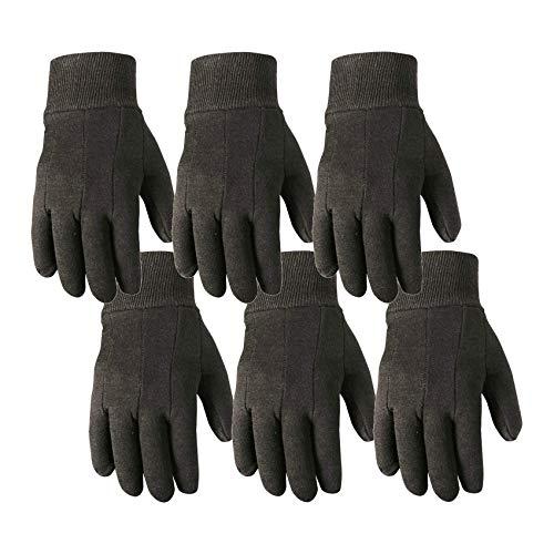 (Wells Lamont Work Gloves, Wearpower, Basic Jersey, 6 Pair Pack (501LK-WNW) )