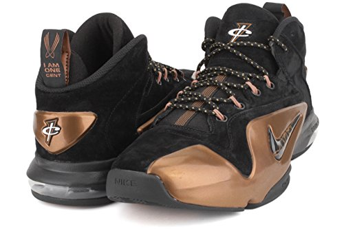 Zoom Basketball Nike Black Metallic Copper Men's Black VI Penny Shoe BxxIqvwfgU