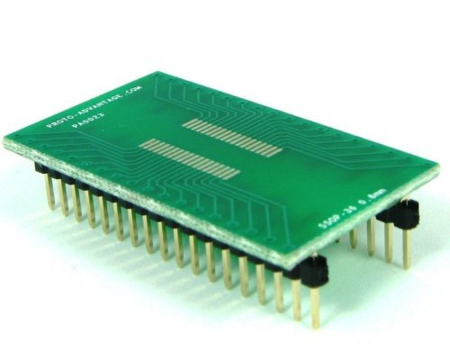 Proto-Advantage SSOP-36 to DIP-36 SMT Adapter (0.8 mm Pitch)