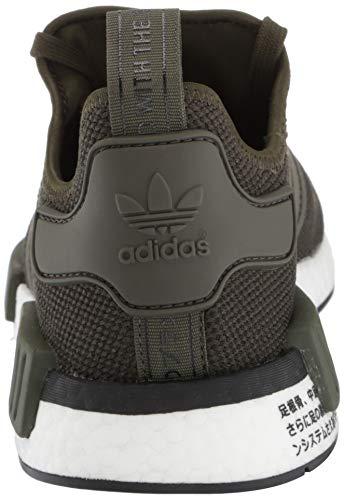 adidas Originals Men's NMD_R1 Running Shoe, Night Cargo/Black, 4 M US by adidas Originals (Image #2)