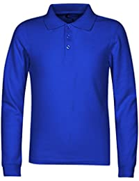 Men's Long Sleeve Polo Shirts – Stain Guard Polo Shirts For Men