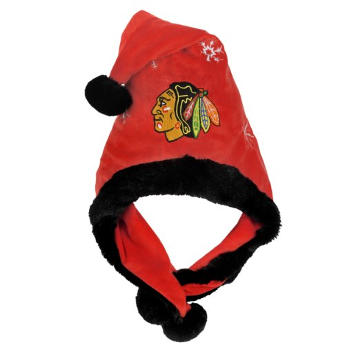 NHL Chicago Blackhawks Thematic Santa Hat (Hat Santa Thematic)