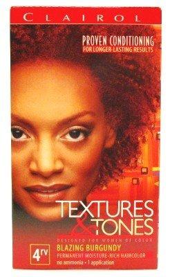 Clairol Text & Tone Kit #4Rv Blazing Burgundy (2 Pack)
