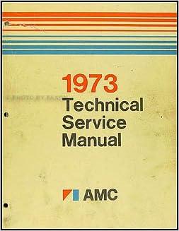 1973 amc service repair manual hornet javelin matador gremli