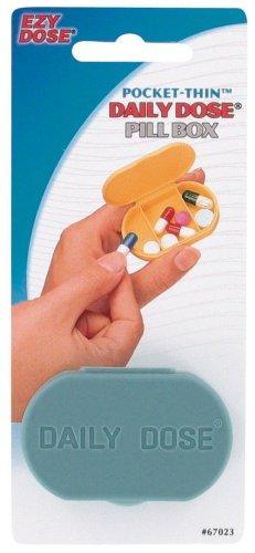 Ezy Dose Pocket Thin Daily Dose Pill Box