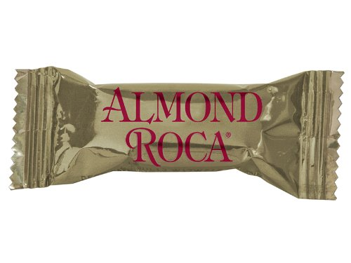 "1 Piece ALMOND ROCA ""Gold"" - 1,000 Count Bulk"