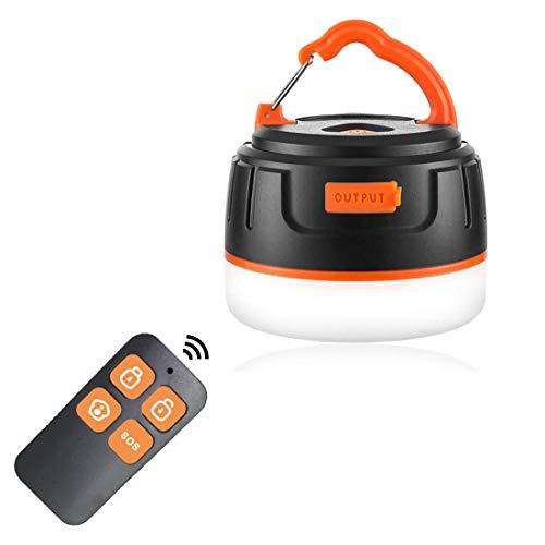 LEDランタン USB充電式 五つ調光モード IP65 防水&防塵認証 マグネット式 吊り下げフック付き アウトドア&停電応急&防災用品 【196ルーメン/連続点灯50時間】