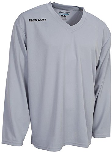 Bauer 200 Series Ice Hockey Practice Jersey Tee Shirt - Senior   Amazon.co.uk  Sports   Outdoors 12b7faca138