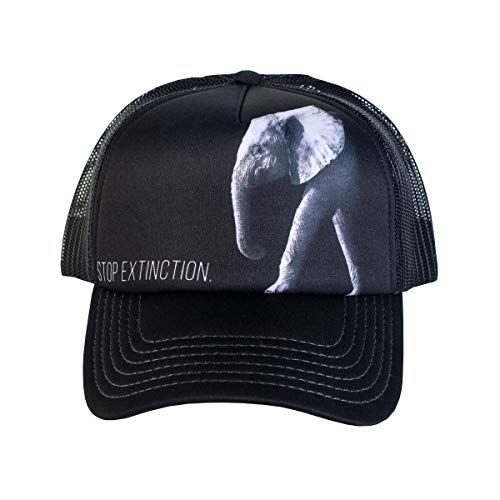 The Mountain Men's Save The Elephant, Black Adjustable