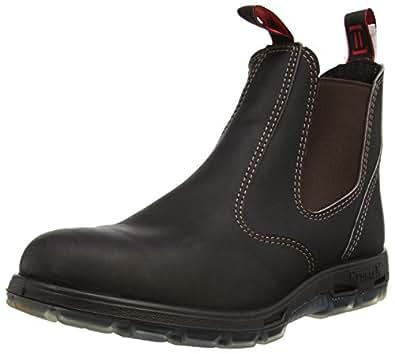 REDBACK UBOK Bobcat Soft Toe Boot DARK BROWN Size AU2 (AU/US/EU Mens Sizes)