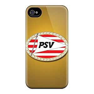 Premium Psv Eindhoven Heavy-duty Protection Case For Iphone 4/4s