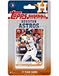 Houston Astros 2019 Topps Factory Sealed Special Edition 17 Card Team Set with Jose Altuve and Alex Bregman Plus