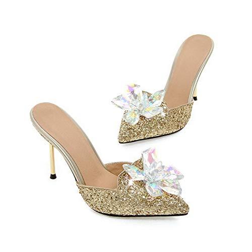 Zeppa Sandali Con Gold Asl05793 Balamasa Donna z5wqntxF