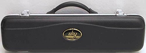 Sky Flute ABS C foot Flute Hard Case Durable by Sky Music