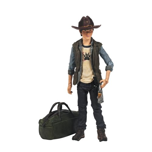 McFarlane Toys The Walking Dead TV Series 4 Carl Grimes Action Figure]()
