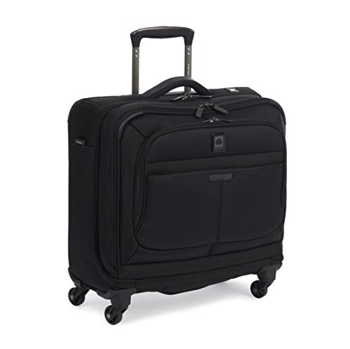 Delsey Luggage Helium Pilot 3.0 Spinner Trolley Tote, Black, One Size by DELSEY Paris