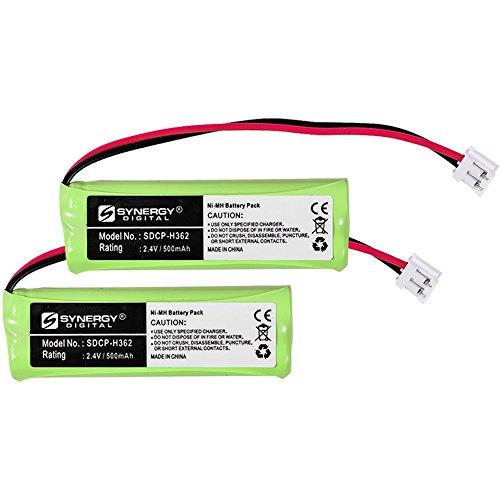 Vtech 89-1337-00-00 Cordless Phone Battery Combo-Pack Includes: 2 x SDCP-H362 - Battery Cordless Phone 00