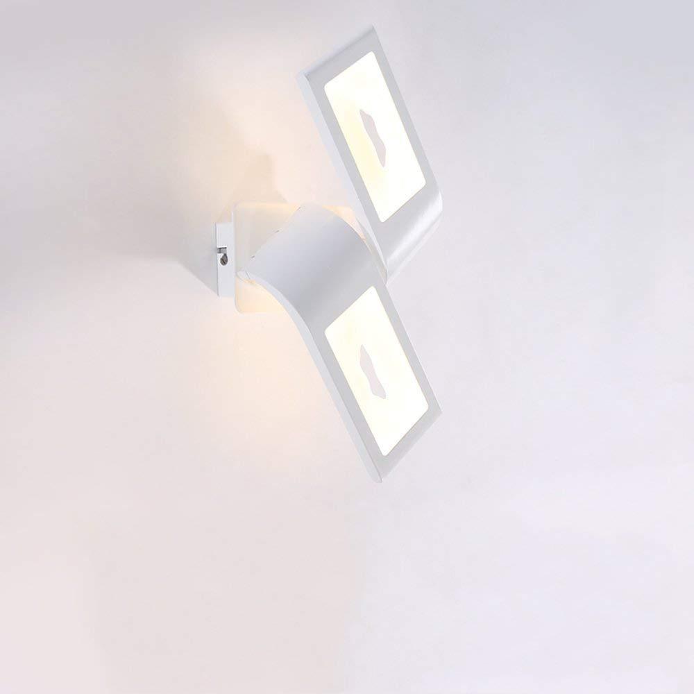 WHKHY Simple Post-Modern Convenience Wall Lamp The Bedchamber Bed Lounge Illuminate Corridor Walk Electric Light Bulbs