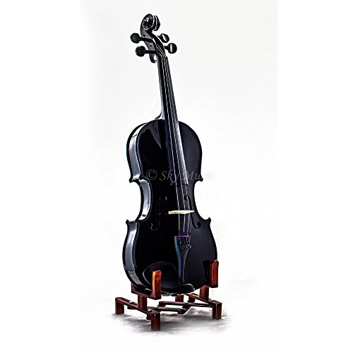 Sky Brand New 4/4 Full Size Violin Pink Solid Wood Student with 2 Bows (SKYVN202-4/4-P)
