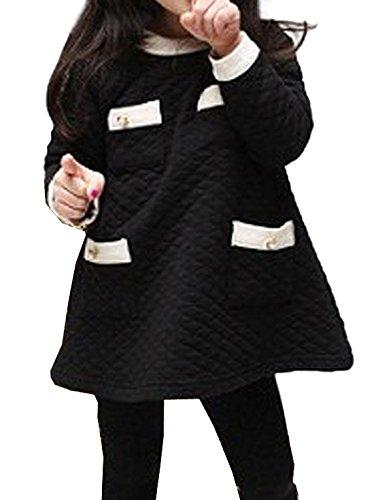 Vijiv Little Sleeve Pockets Sweater